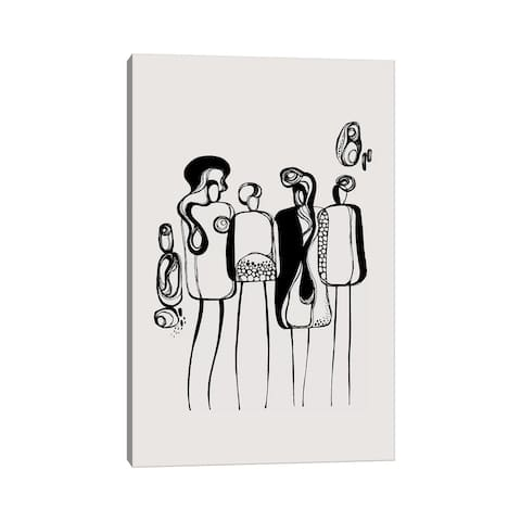 """iCanvas """"Pod People IV"""" by Soul Curry Art & Illustrations Canvas Print"""