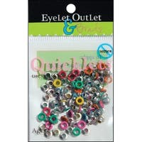 Eyelet Outlet Quicklets Round 84/Pkg-Summer 2