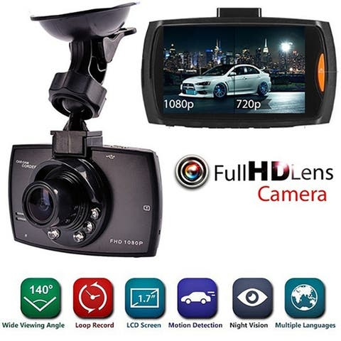2.2inch Car Camcorder Wide Angle Full HD Screen 1080P/720P Night Vision Car Video Camcorder Recorder Auto DVR Front Camera