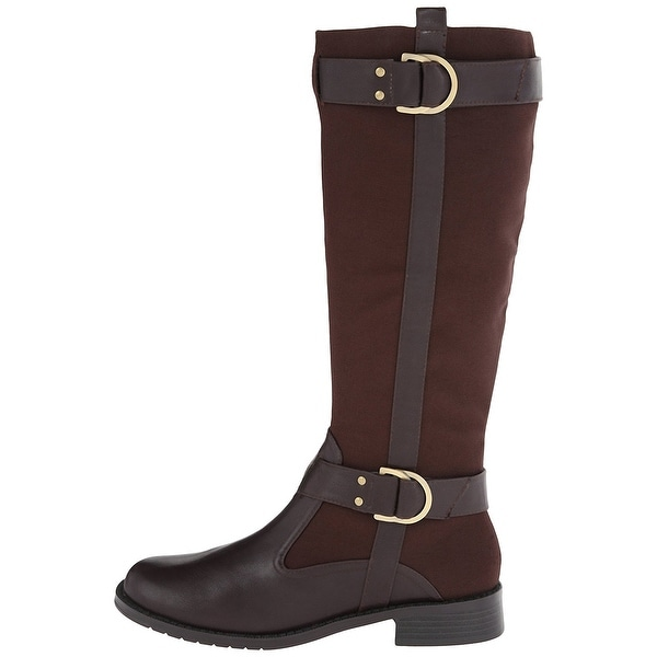Aerosoles Womens Ride Line Closed Toe Mid-Calf Fashion Boots