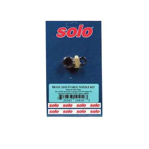 Solo 0610410-P Adjustable Nozzle Kit, Brass