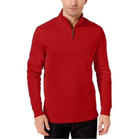 Club Room Mens Ribbed Pullover Sweater