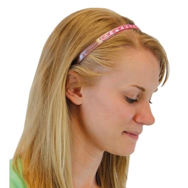 Ravishing Rhinestone Plastic Headband