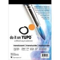 """Translucent 104Lb - Yupo Paper 5""""X7"""" 15 Sheets/Pkg"""