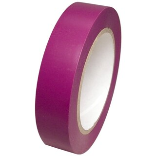 "TapePlanet Colored Vinyl Tape 1"" x 36 yard Roll (Option: Purple)"