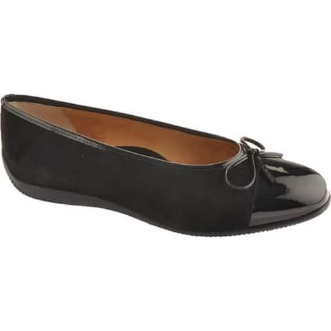 ara Women's Bella 43716 Black Patent/Suede