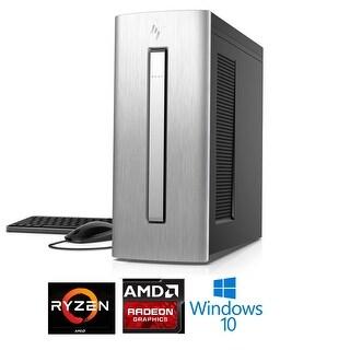HP Envy 750-610 AMD Ryzen 5 1400 Processor 1TB HD Radeon RX580 4GB Desktop PC