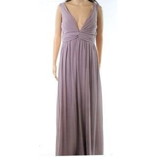 Soieblu Womens Large Pleated Chiffon Sheath Dress