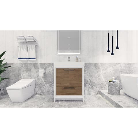 Dove Freestanding Vanity with Reinforced Acrylic Sink