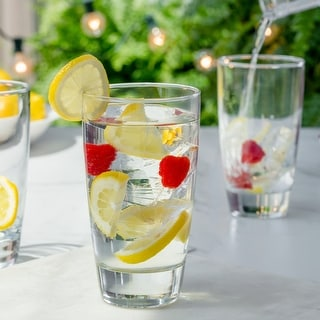 Link to Luminarc 15 Ounce Elite Cooler Glass, Set of 4 Similar Items in Glasses & Barware