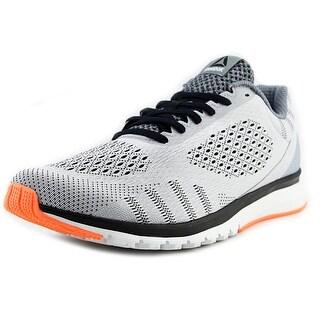 Reebok Print Smooth Ultk Men Round Toe Synthetic Gray Running Shoe