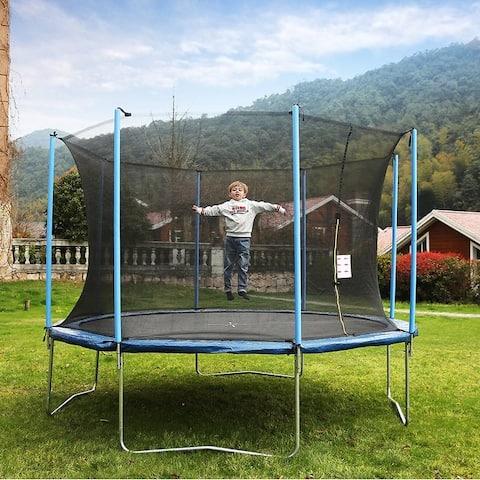 AirBound 10-foot Round Trampoline with Safety Enclosure