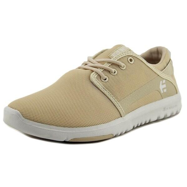 Etnies Scout Men Tan/White Skateboarding Shoes