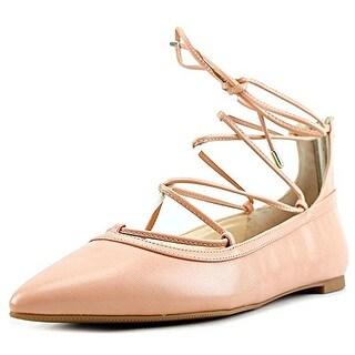 INC International Concepts Womens Zadde Closed Toe Ankle Wrap Slide Flats
