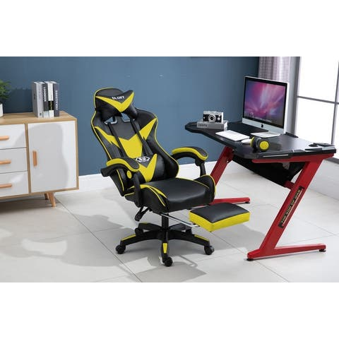 """Atelier Du Nord- Retracable Office Gaming Chair - 27.5x27.5x47-50"""""""