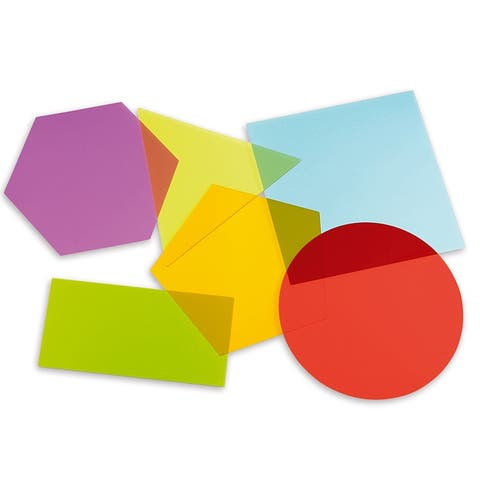 Jumbo Color Mixing Shapes