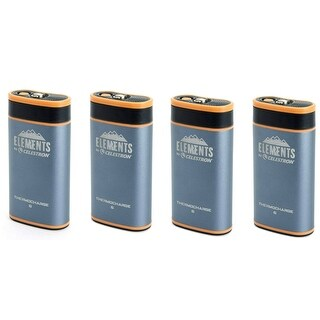 Celestron 48023 Elements ThermoCharge 6 w/ Hand Warmer & Power Bank (4-Pack)