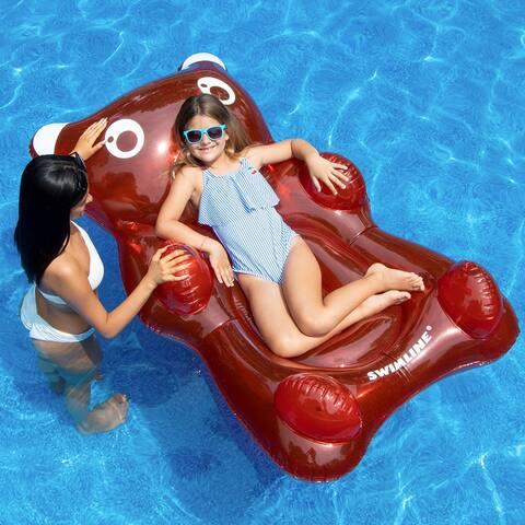 Swimline Gummy Bear, Red