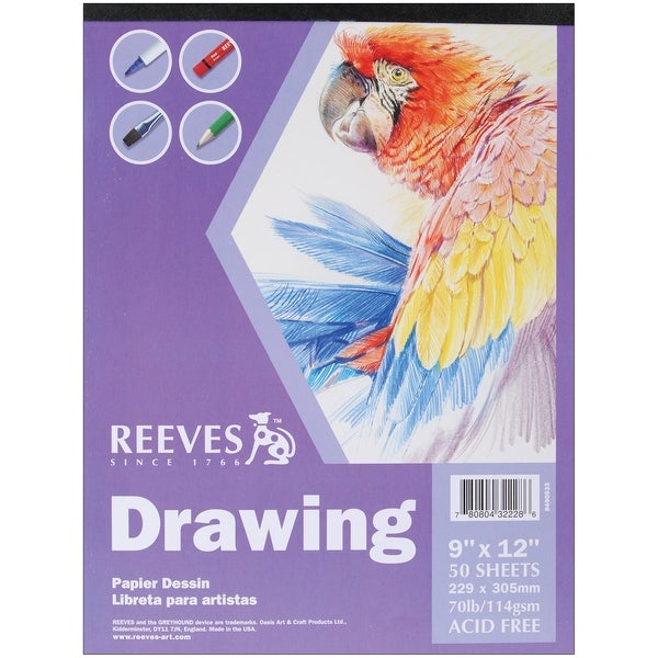 "Reeves Drawing Paper Pad 9""X12"""