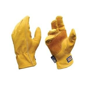 Wells Lamont 1201M Hydrahyde Cowhide Leather Work Glove, Medium