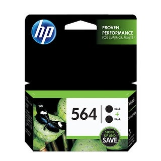 HP 564 2-pack Black Original Ink Cartridges (C2P51FN) (Single Pack) HP 564 Ink Cartridge - Black - Inkjet - Standard