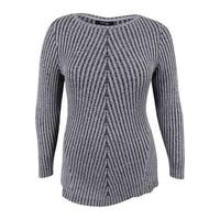 Style & Co. Women's Plus Size Ribbed Sweater