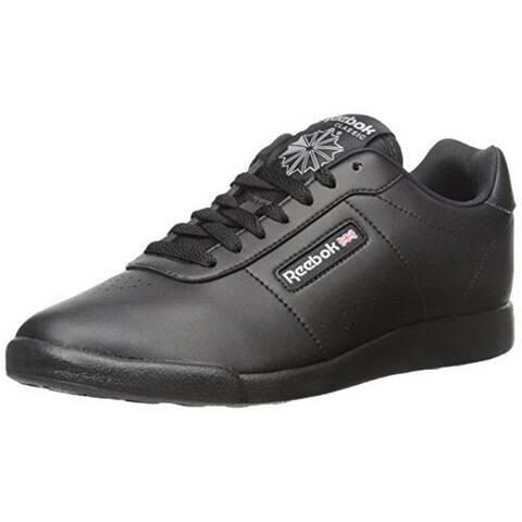 Reebok Womens Princess Lite Classic Sneaker, Adult, Black