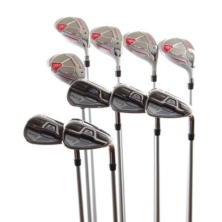 New Cobra Ladies Fly-Z XL Hybrid Iron Set 3H-7H + 8i-PW,GW,SW Graphite RH +HCs