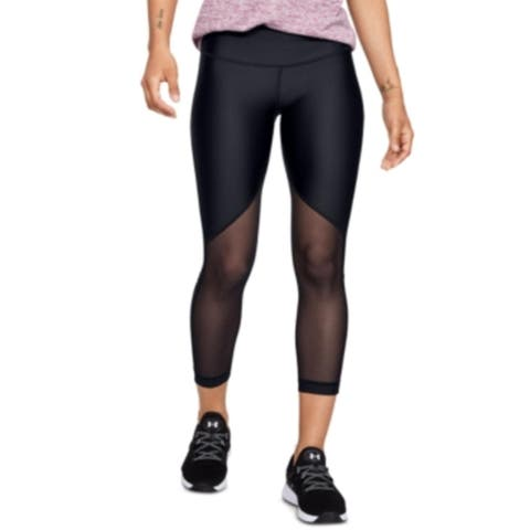 Under Armour Womens Athletic Leggings Fitness Running - Black
