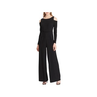 American Living Womens Jumpsuit Cold Shoulder Casual