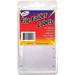 White - File Folder Labels 154/Pkg