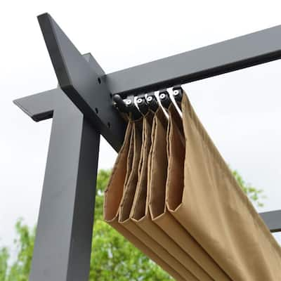 ALEKO Fabric Replacement for Pergola Canopy 13 x 10 Ft - Sand Color