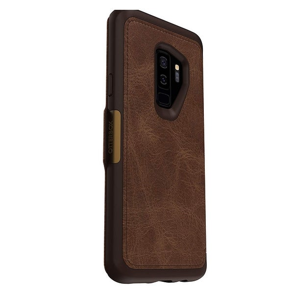 new concept cb7f8 125ec Shop OtterBox Strada Series Leather Folio Case For Samsung Galaxy S9 ...