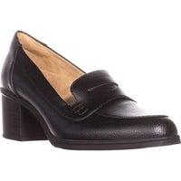 aa1758b0ee03 Shop Naturalizer Women s Sammy Loafer Black Patent Sparkle Leather ...