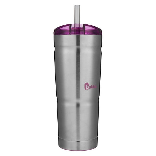 aa89bf0b77d Shop Bubba 1965699 Envy S Insulated Stainless Steel Tumbler with Straw, 24  Oz - Free Shipping On Orders Over $45 - Overstock - 25455253