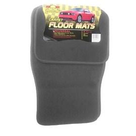 Simoniz Automobile Floor Mats Set of 4 in Gray
