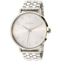 Nixon Women's Arrow A10901920 Silver Metal Quartz Fashion Watch
