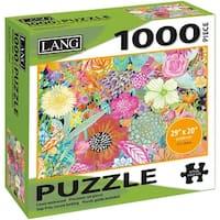 """Jigsaw Puzzle 1000 Pieces 29""""X20""""-Garden Wildflowers"""