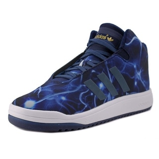 Adidas Veritas Mid Round Toe Canvas Sneakers