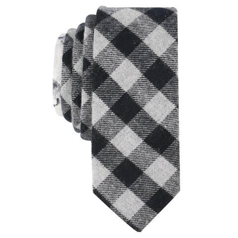 Penguin Mens Edelle Check Self-Tied Necktie - One Size