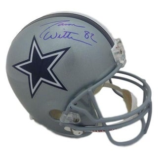 Jason Witten Autographed Dallas Cowboys Replica Helmet In Blue JSA