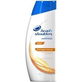 Head & Shoulders Damage Rescue Pyrithione Zinc Dandruff Shampoo 14.2 oz