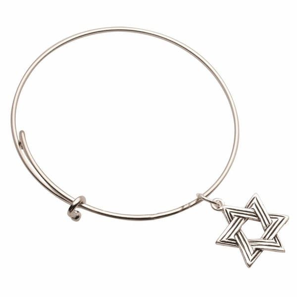 Women's Inspiration Charms Bracelets - Star Of David