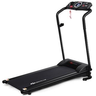 Link to Goplus 1HP Goplus Electric Treadmill Folding Motorized Power Running - 46'' x20'' x43''(L x W x H) Similar Items in Cardio Equipment