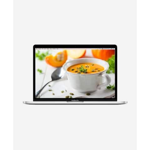 Macbook Pro 15.4-inch (Retina DG, Silver, Touch Bar) 3.1Ghz Quad Core i7 (Mid 2017) 64 GB Hard Drive 16 GB Memory - Silver