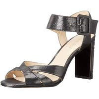 Nine West Women's Crossroad Glitter Dress Sandal - 6.5
