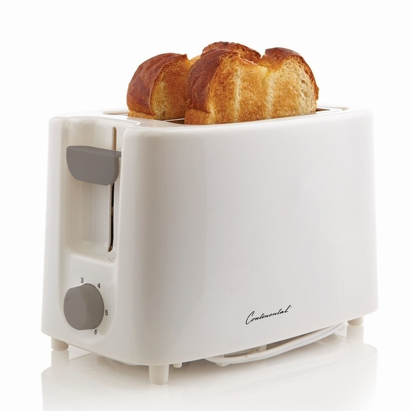Continental Electric 2-Slice Toaster Cool Touch. Opens flyout.