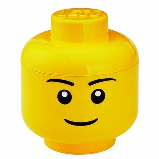 LEGO Large Storage Container Head, Boy - Multi