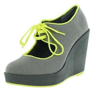 Volatile Clownin Women's Wedge Platform Maryjane Shoes