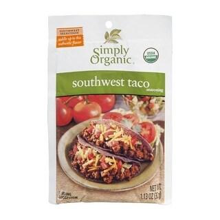 Simply Organic - Southwest Taco Mix ( 12 - 1.13 oz bags)